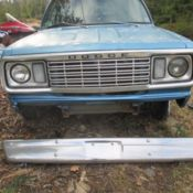 1977 dodge ram d100 club cab 2wd 318 4 spd ramcharger hood rare survivor driver classic dodge. Black Bedroom Furniture Sets. Home Design Ideas