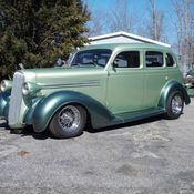 1936 dodge 440 5 window coupe street rod classic dodge for 1936 dodge 5 window coupe