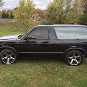Pro Street Chevrolet Chevy S10 Blazer - Classic Chevrolet S-10 1984
