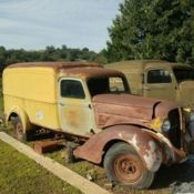 1935 Dodge Brothers Humpback Delivery Desert Find offered by Gas Monkey Garage! - Classic Dodge