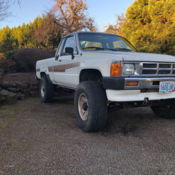 1991 Toyota Pickup - 4x4 22RE w/ plow for parts or repair