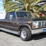 1984 Ford F 150 Xlt 4x4 Auto Rust Free