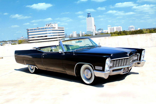 1967 cadillac coupe deville convertible classic. Black Bedroom Furniture Sets. Home Design Ideas