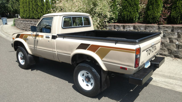 1982 Toyota Sr5 4wd Pickup 22re 5 Speed 4x4 Worldwide No Reserve