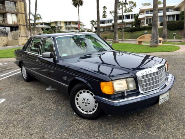 1990 mercedes benz 300sel w126 6 cyl classic excellent for Mercedes benz 300 series
