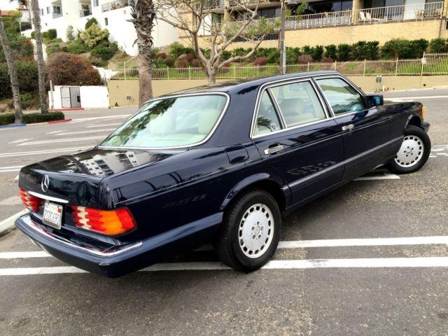 1990 mercedes benz 300sel w126 6 cyl classic excellent