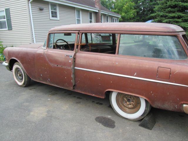 2 1955 Pontiac 2 Door Wagon Project Cars Classic
