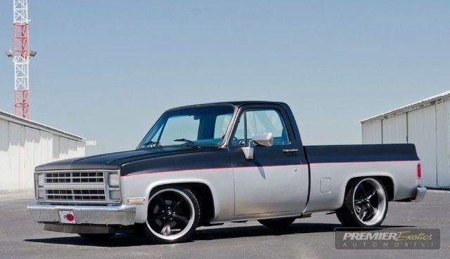 ** C10 ** Shop Truck ** Square Body ** Silverado ...