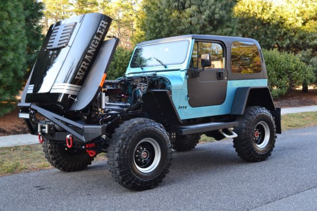 meticulously modified classic 1990 jeep wrangler yj v8 classic jeep wrangler 1990 for sale. Black Bedroom Furniture Sets. Home Design Ideas