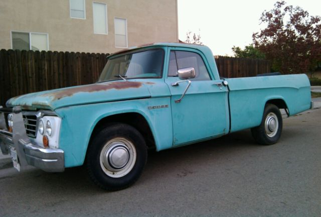 Original Dodge Sweptline Truck D D Power Wagon Camper Special on 1964 Dodge Truck 4 Door