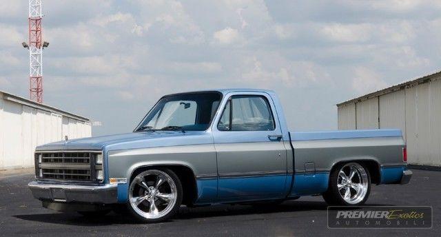 Silverado C10 Square Body Shop Truck Sierra