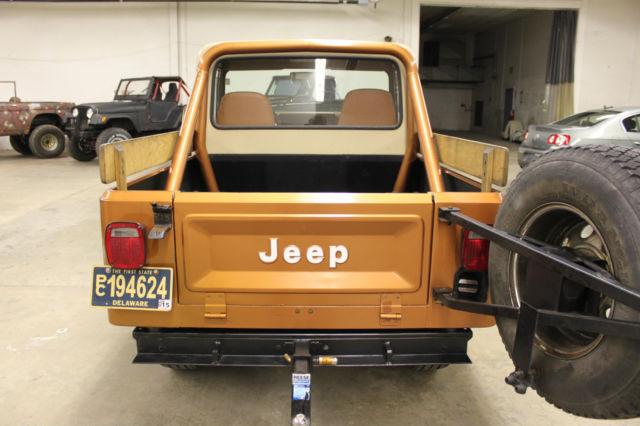 super clean rare 1981 amc jeep scrambler cj8 i. Black Bedroom Furniture Sets. Home Design Ideas