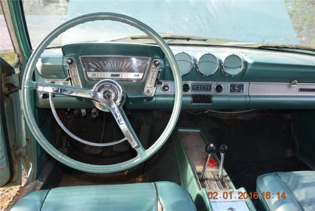 Twin Stick Rare 1963 Amc Rambler Classic Model 770 Nr