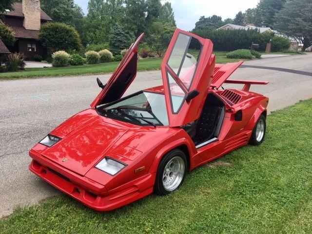 Quot No Reserve Quot Lamborghini Countach 25th Anniversary V8