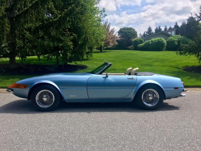 "1980 Corvette For Sale >> ""RARE"" Tom McBURNIE Daytona Spyder 365 GTB corvette kitcar ..."