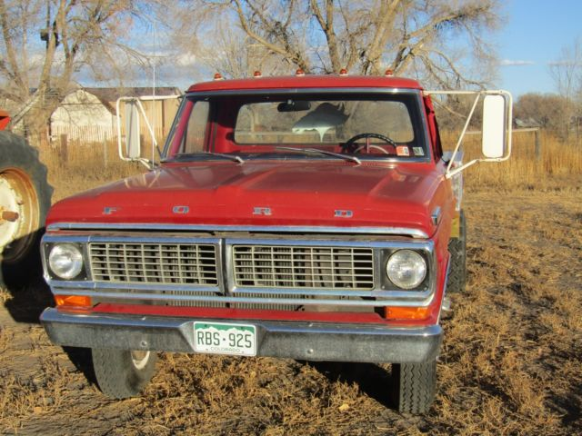 Single Cab Diesel For Sale >> '70 Ford f-350 single cab flatbed dually truck - Classic ...