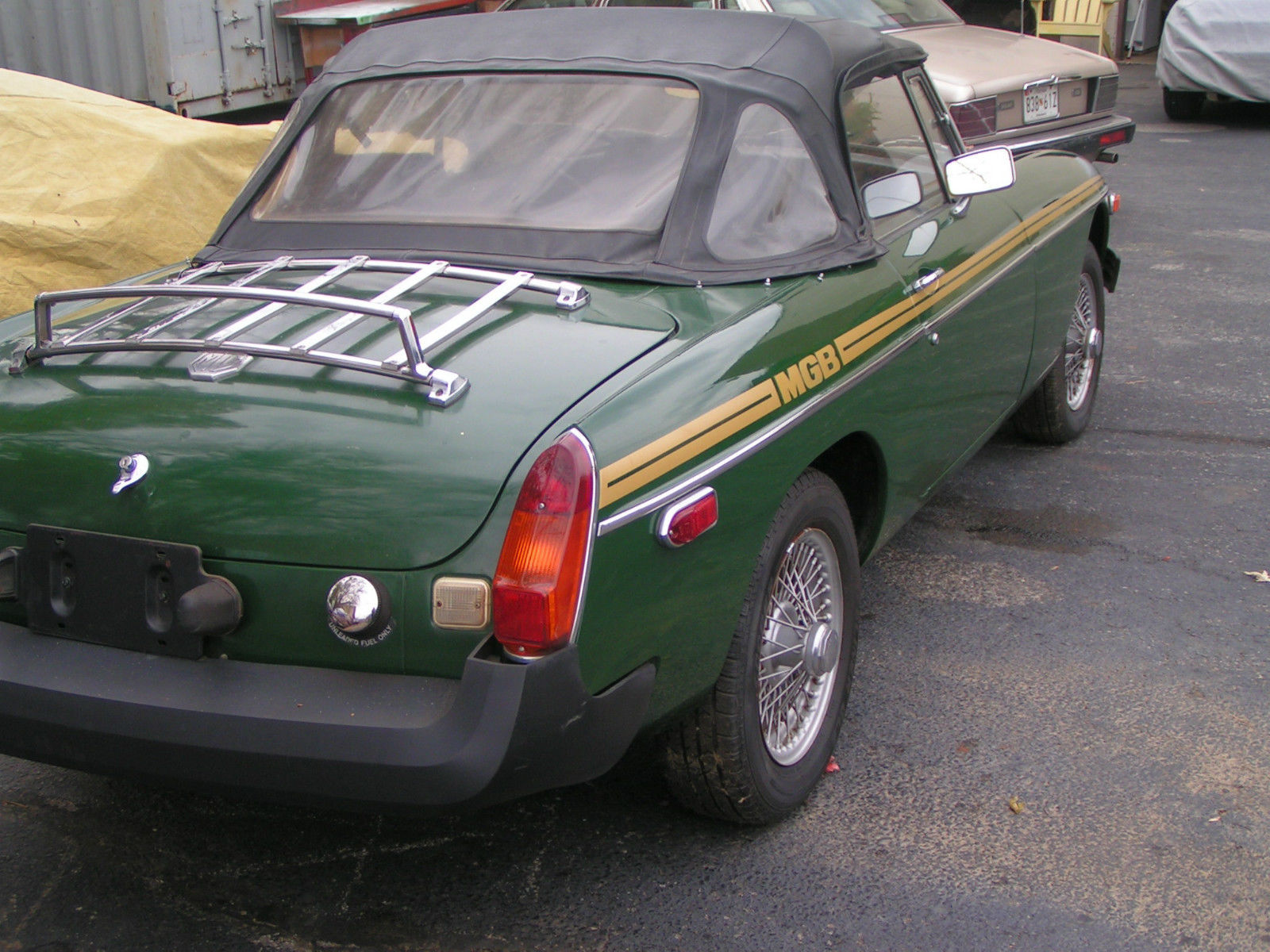 77 MGB w ROVER 3 9L V8 Classic MG MGB 1977 for sale