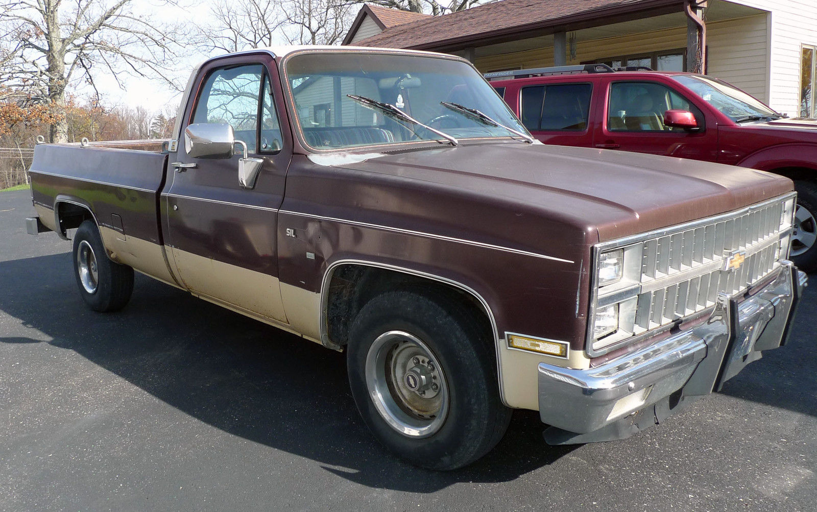 Classic chevy trucks by year