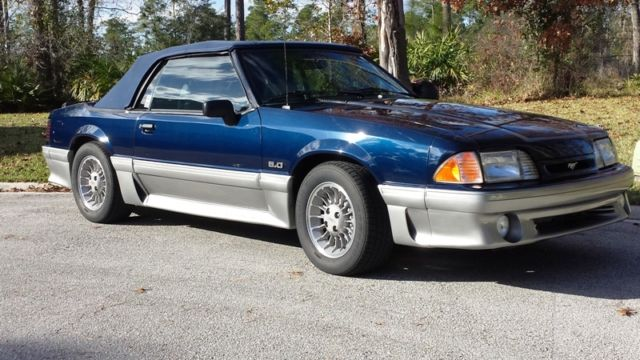 90 Mustang Gt 5 0 Convertible 25th Anniversay Edition