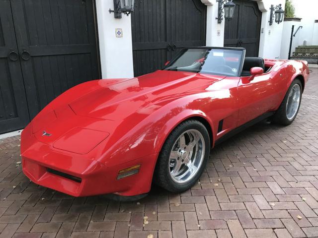 1980 Corvette For Sale >> $1 **NO RESERVE**1980 Corvette Roadster 454 small block ...