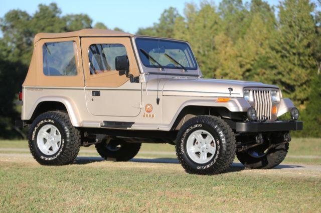 17k mile 1994 jeep wrangler sahara manual classic jeep wrangler 1994 for sale. Black Bedroom Furniture Sets. Home Design Ideas