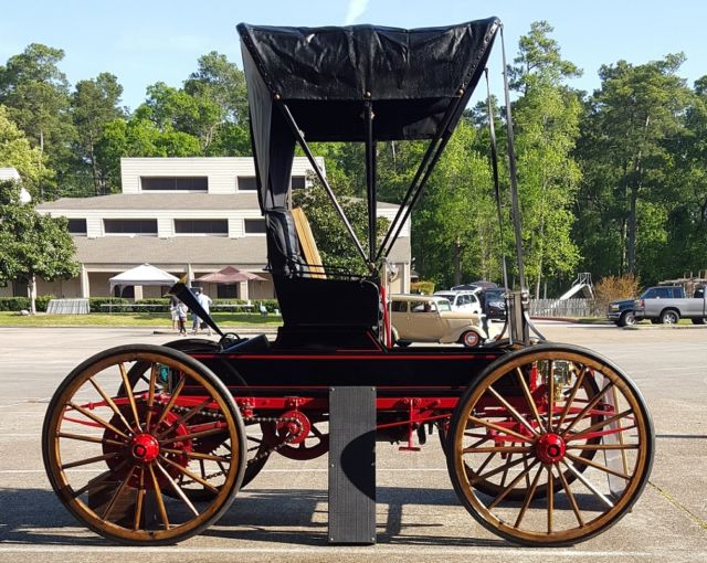 Sears Car: 1911 Sears Motor Buggy Model G Runabout