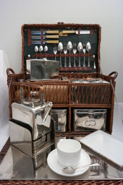 1912 herbert robinson canton works sheffield antique picnic basket 1912 rolls royce picnic basket watchthetrailerfo