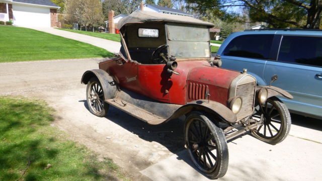 1918 QML RUNABOUT AUSTRALIAN MODEL T FORD- BARN FIND ...