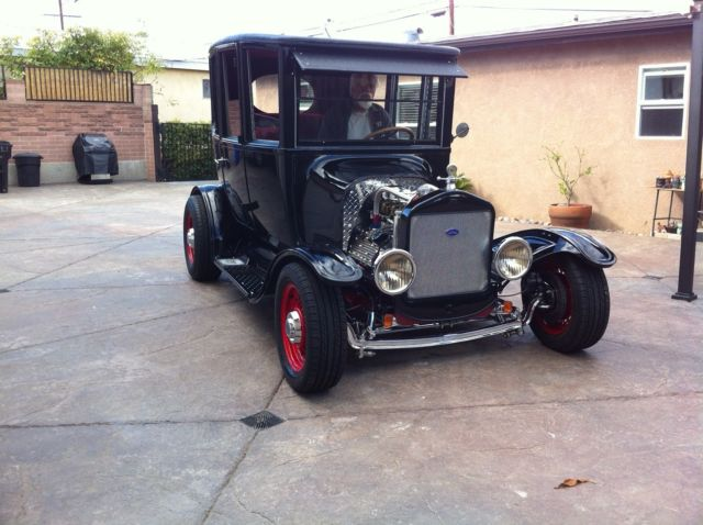 Center Door Ford T Street Rodhot Rod Frame Up Restoration