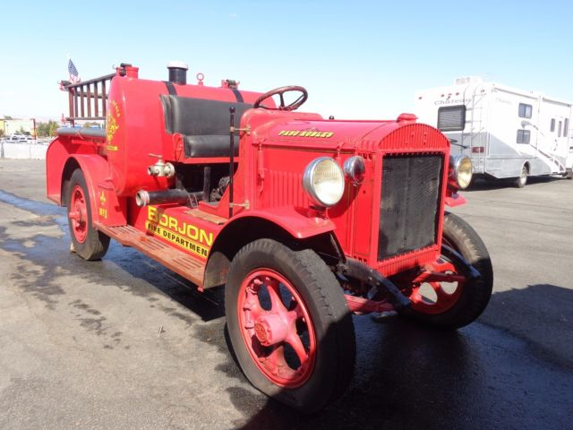 Gmc Paso Robles >> 1922 GMC FIRE TRUCK 6 CYLINDER COLLECTOR & RUNNING! - Classic GMC Other 1922 for sale