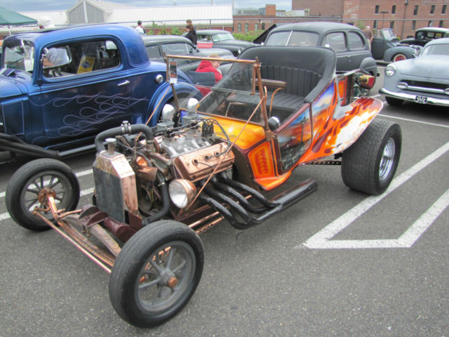 Used Cars Spokane >> 1923 Ford Model T Bucket Hot Rod Custom 241 Red Ram Hemi Henry steel - Classic Ford Other 1923 ...