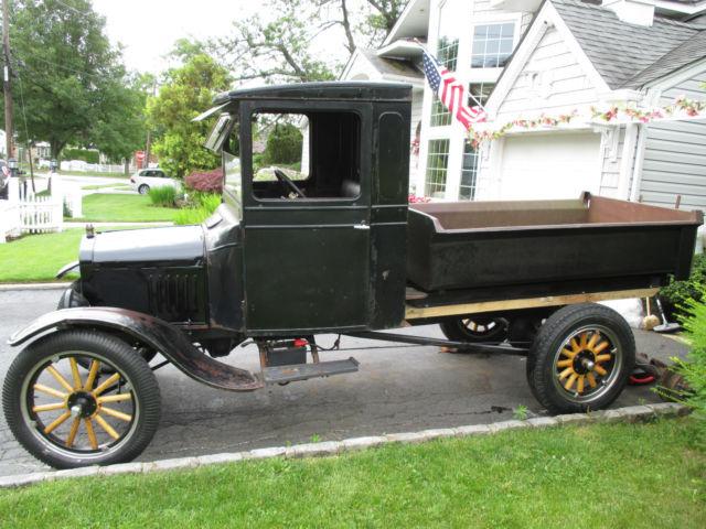 1923 ford model tt 1 ton w dump body original engine paint registered classic ford. Black Bedroom Furniture Sets. Home Design Ideas