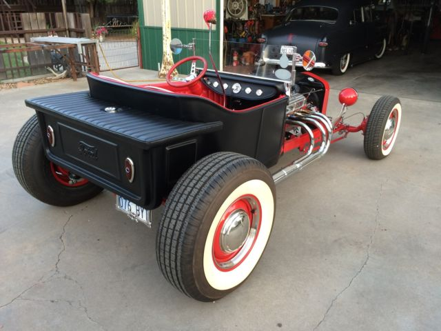 1923 T Bucket Black And Red Hot Rod Rat Rod Street Rod 289