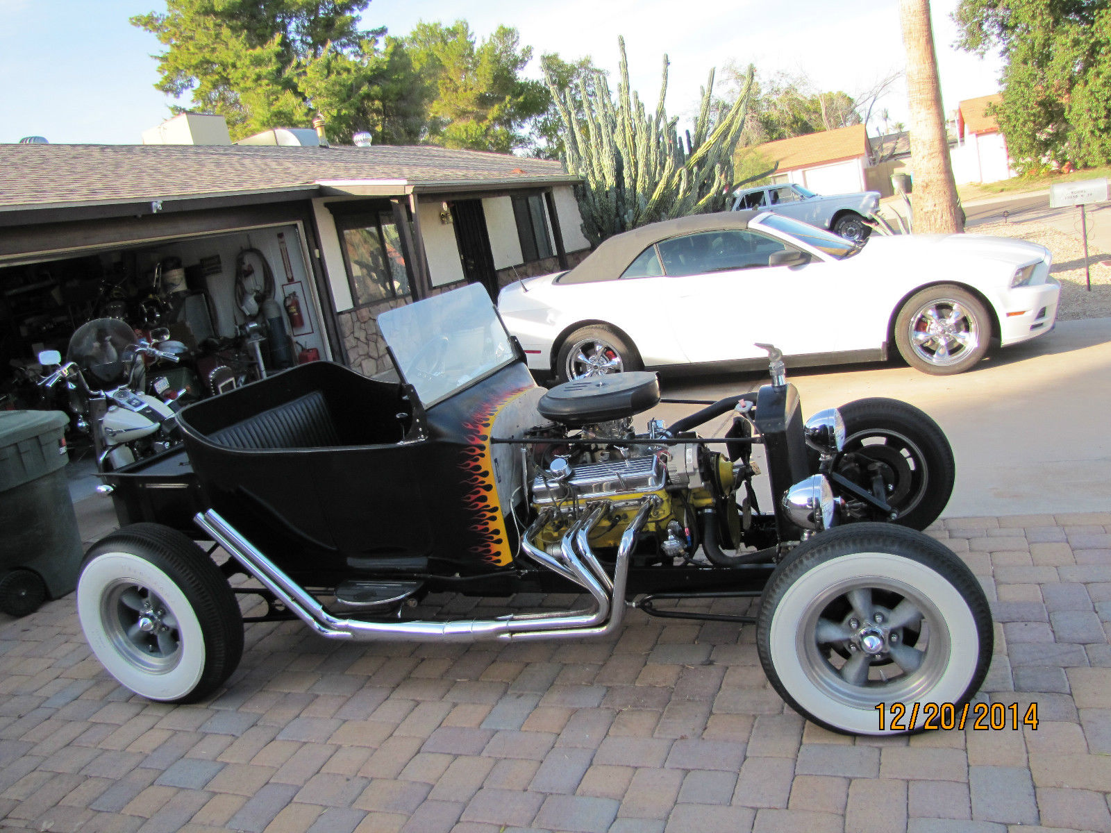 T Bucket Rat Rod Hot Rod Street Rod Custom Ford Chevy Harley on Painless Wiring Harness