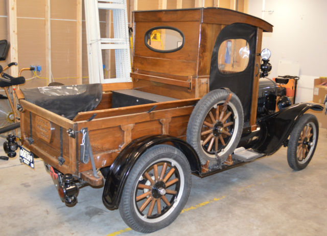 1924 Ford Model T C Cab Quot Woody Quot Pickup Truck Older