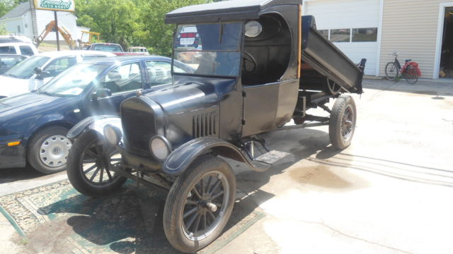 1925 Ford Model Tt C Cab Dump Truck Classic Ford Model T