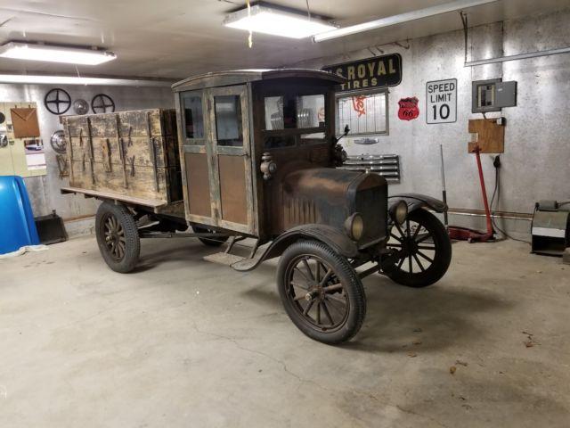 1925 Ford Model TT Grain Truck Original Condition Survivor 93 Years Old