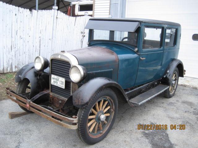 1926 ESSEX 2 DOOR FORD MODEL T MODEL A 49 000 MI 2 DOOR