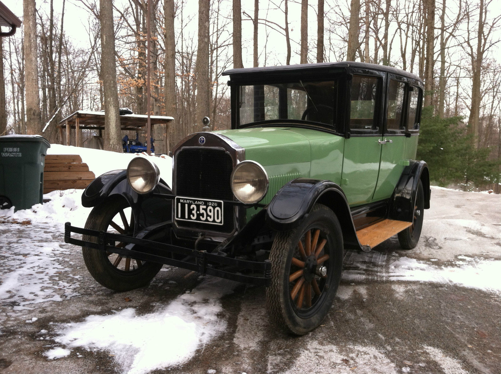 1926 star four model m car by durant motor co classic