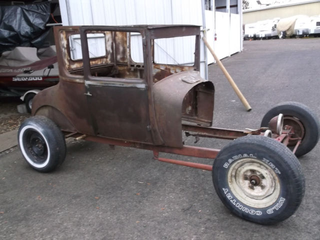 1926 Tall T Rolling Rat Rod Project