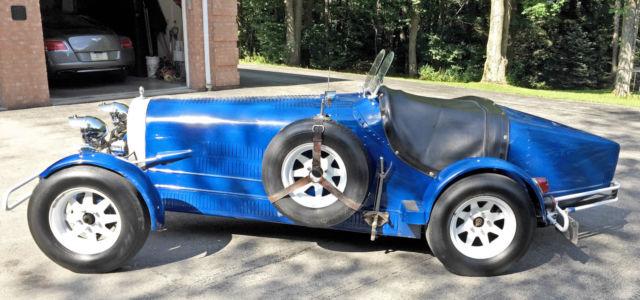 1927 Bugatti Type 35b Replica Kit Car Classic Bugatti