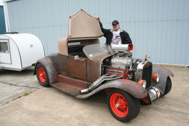 Ford Model A Fenders : Ford model t custom blown roadster with a