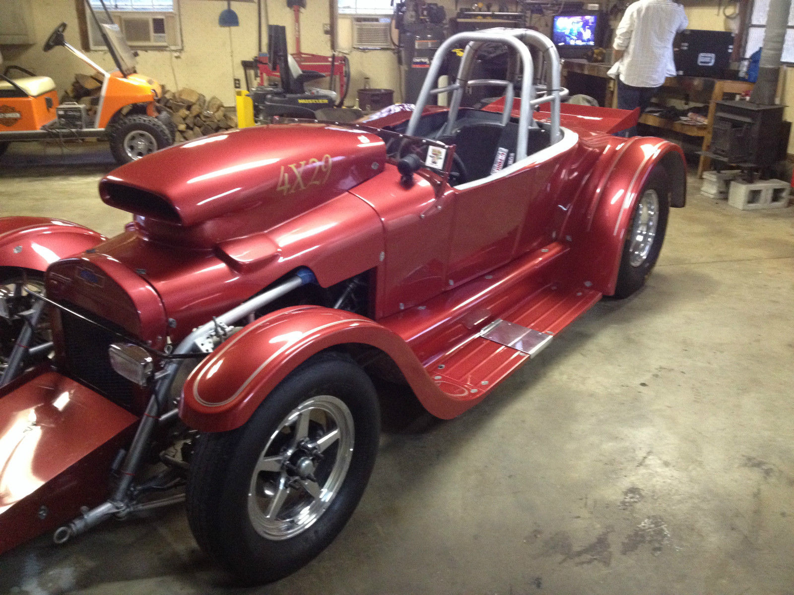 1927 Ford Roadster Altered Full Tube Chassis Drag Car - Classic Ford