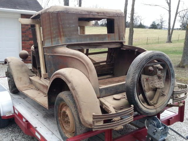 Used Chevy Spark >> 1928 Chevrolet Coupe rough - Rat Rod Hot Rod or Parts galore - patina for sure ! - Classic ...