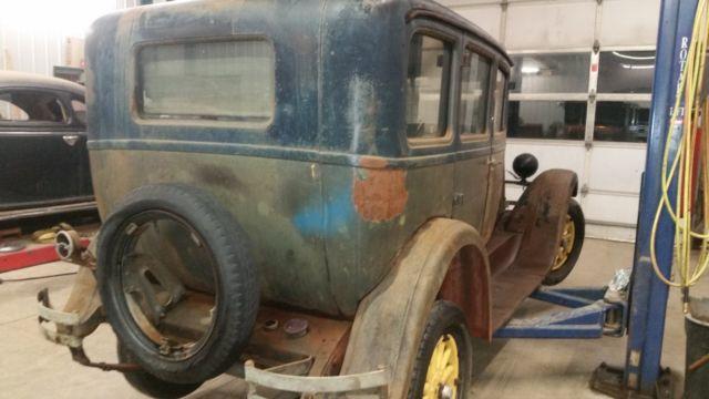 1928 Dodge Brothers Fast 4 Nice Original Condition Garaged