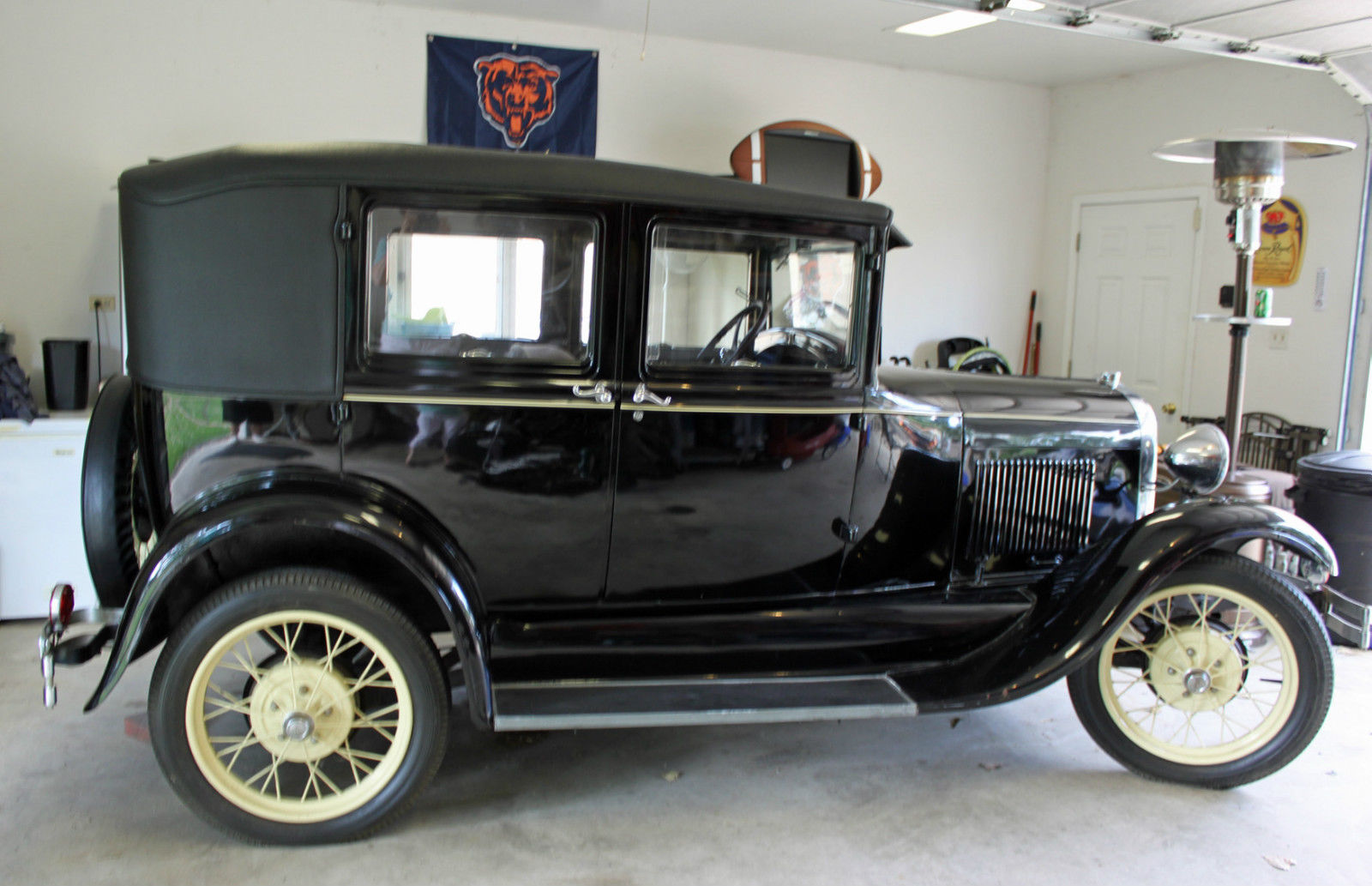 1928 Ford Model A Sedan 4 Door Beautiful Condition Classic Ford Model A 1928 For Sale