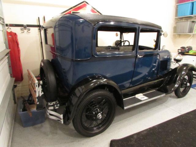 1928 Ford Model A Tudor Rare - Classic Ford Model A 1928 ...