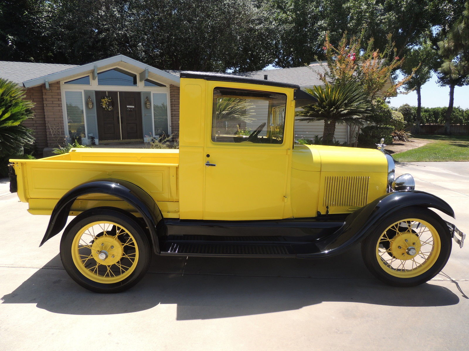 1928 ford model aa pickup truck fully restored classic ford model a 1928 for sale. Black Bedroom Furniture Sets. Home Design Ideas