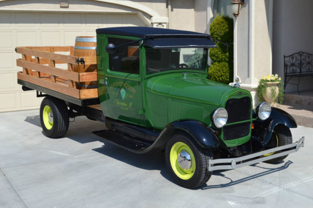 1928 Ford Model Aa Stake Bed Truck Classic Ford Model A