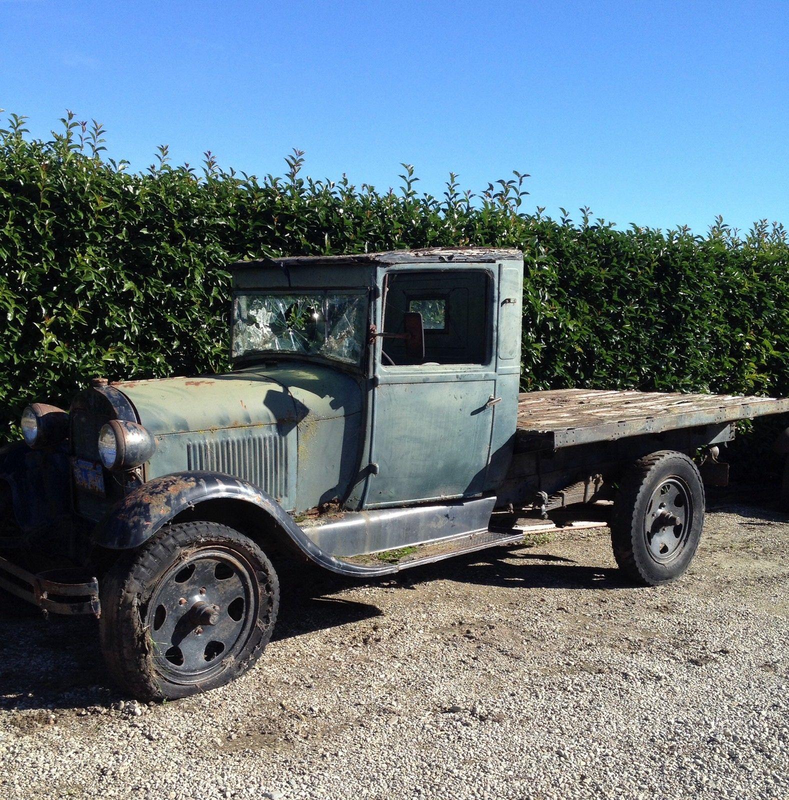 1928 Ford Model Ar Aa Short Wheelbase Truck Hot Rod